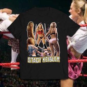 Vintage Style Stacy Keibler Wrestling Diva Tee